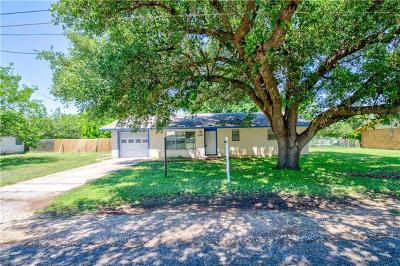 Marble Falls Single Family Home Pending - Taking Backups: 1115 Mulberry Dr