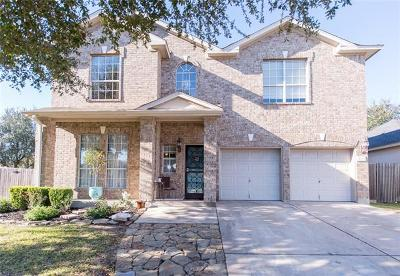 Round Rock Single Family Home For Sale: 16557 Avaranche Way