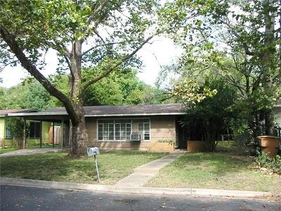 Travis County Single Family Home For Sale: 606 W Crestland Dr