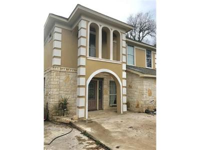 Del Valle Single Family Home For Sale: 123 Rock Point Dr