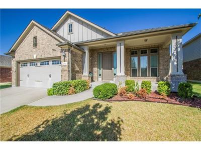 Pflugerville Single Family Home For Sale: 20800 Huckabee Bnd