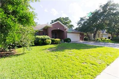Cedar Park Single Family Home For Sale: 1500 Fall Creek Dr