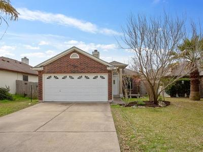 Manor Single Family Home For Sale: 16625 Trevin Cv