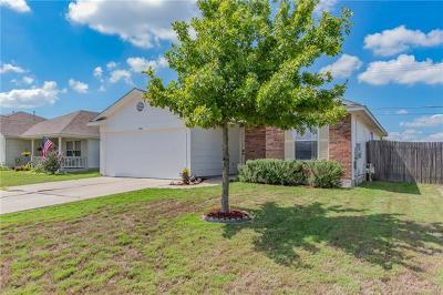 Hutto Single Family Home For Sale: 208 Stewart Dr