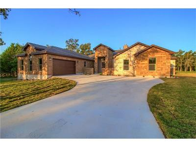 Bastrop Single Family Home For Sale: 172 Abamillo Dr
