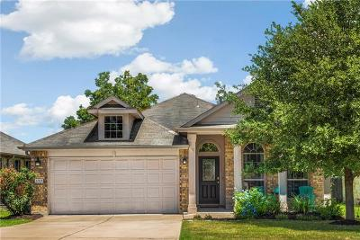 Travis County Single Family Home Pending - Taking Backups: 12121 Eruzione Dr