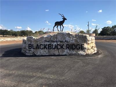 Lampasas Residential Lots & Land For Sale: TBD Sable Pass #7