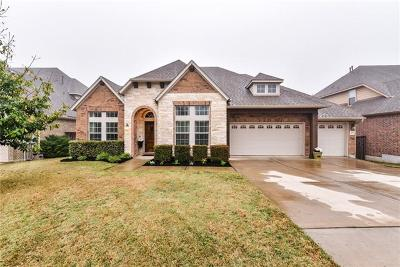 Leander Single Family Home For Sale: 1621 Buffalo Thunder