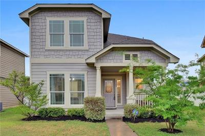 Cedar Park Single Family Home For Sale: 1702 Zilker Dr