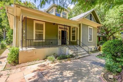 Austin Single Family Home For Sale: 1905 Willow St