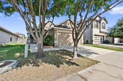 Hays County, Travis County, Williamson County Single Family Home Pending - Taking Backups: 8912 Milton Lease Dr