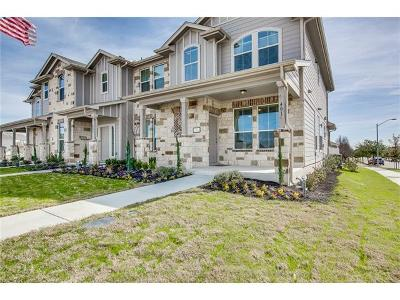 Pflugerville Condo/Townhouse For Sale: 411 Crater Lake Dr