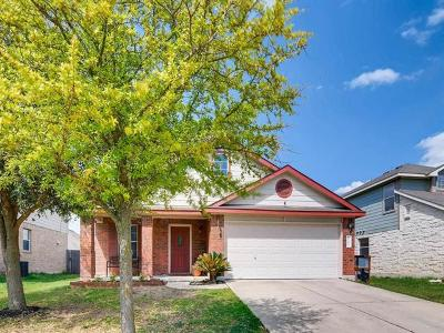 Hutto Single Family Home Pending - Taking Backups: 225 Mossy Rock