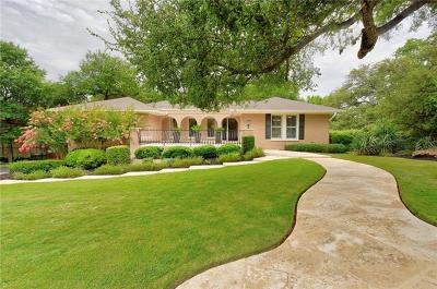 Austin Single Family Home For Sale: 2902 Scenic Dr