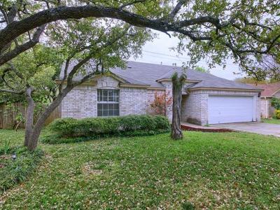 Cedar Park Single Family Home Pending - Taking Backups: 1107 Tremont Dr