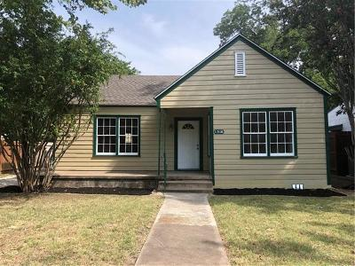 Taylor Single Family Home Pending - Taking Backups: 1316 Wallace St