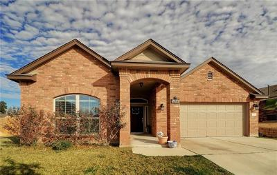 Leander Single Family Home For Sale: 521 Tula Trl