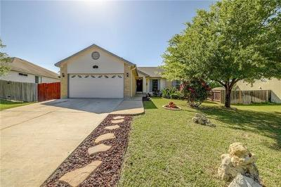 Hutto Single Family Home For Sale: 121 Little Lake Rd