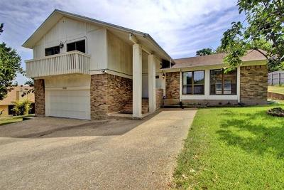 Harker Heights Single Family Home For Sale: 809 Cliffside Dr