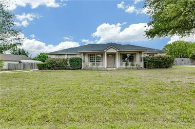 Round Rock Single Family Home For Sale: 212 Adelfa Dr