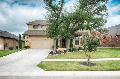 Georgetown Single Family Home For Sale: 116 Cibolo Ridge Dr