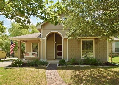 Kyle Single Family Home Pending - Taking Backups: 1073 Twin Cv