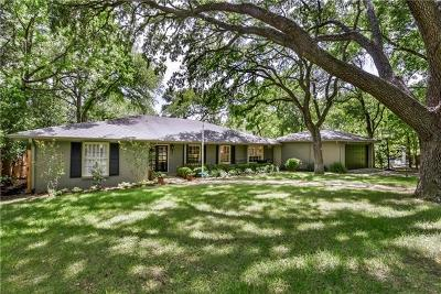 Travis County Single Family Home For Sale: 3411 Foothill Ter