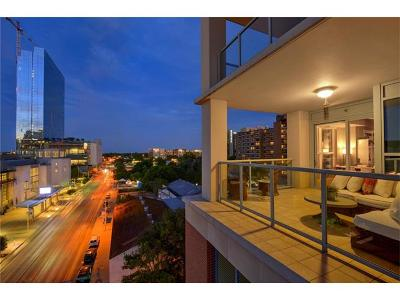 Condo/Townhouse For Sale: 98 San Jacinto Blvd #607