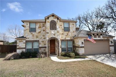 Round Rock Single Family Home Pending - Taking Backups: 2644 Salorn Way