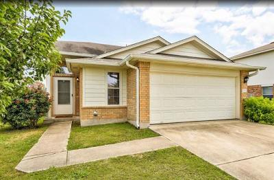 Manor Single Family Home For Sale: 12633 James Polk St