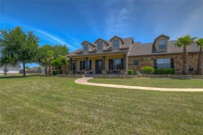 Marble Falls Single Family Home For Sale: 2703 Park View Dr