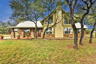 Dripping Springs Single Family Home For Sale: 11391 Bonham Ranch Rd