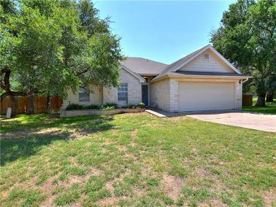 Liberty Hill Single Family Home For Sale: 314 Carriage Oaks Dr