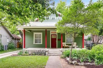 Austin Single Family Home Pending - Taking Backups: 4110 Avenue C