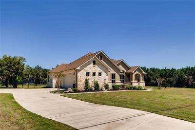 Liberty Hill Single Family Home Pending - Taking Backups: 102 Quarry Lake Estates Dr