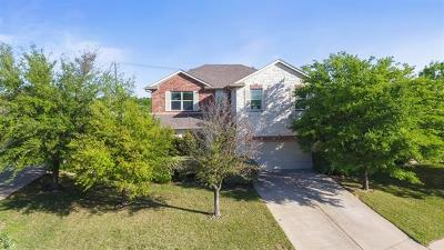 Round Rock Single Family Home For Sale: 542 Centerbrook Pl