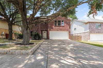 Pflugerville Single Family Home For Sale: 17916 Regis Dr