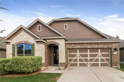 Round Rock TX Single Family Home For Sale: $313,000