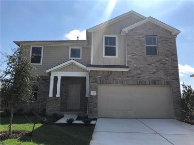 Round Rock Single Family Home For Sale: 6807 Donato Cv