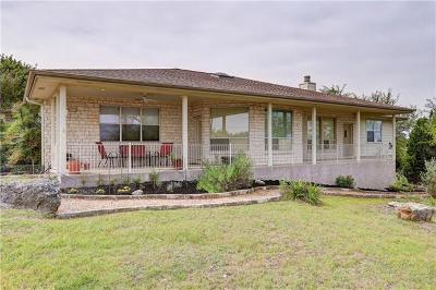 Lago Vista Single Family Home Pending - Taking Backups: 4801 Arrowhead Dr
