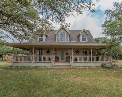 Williamson County Single Family Home For Sale: 1400 County Rd 233