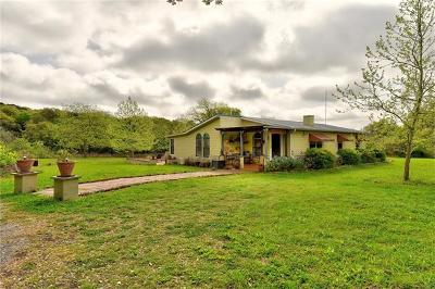 San Marcos Single Family Home For Sale: 5800 Purgatory Rd