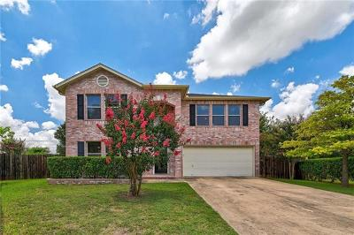 Round Rock Single Family Home For Sale: 1005 Sheltie Cv