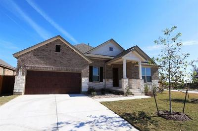 Hutto Single Family Home For Sale: 713 Duroc Dr