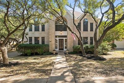 Travis County Single Family Home Pending - Taking Backups: 12905 Tapadero Dr