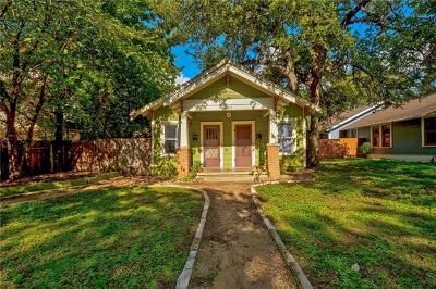 Austin Single Family Home For Sale: 4004 Ave A