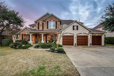 Cedar Park Single Family Home For Sale: 3107 Castellano Way