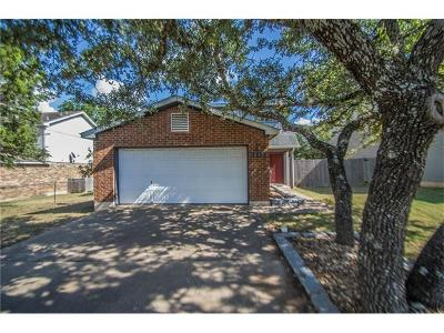 Cedar Park Single Family Home For Sale: 832 Lone Star Dr