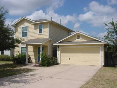 Manor Single Family Home For Sale: 12420 Briarcreek Loop