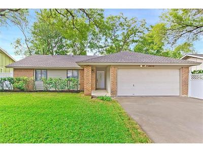 Travis County Single Family Home For Sale: 2619 Carlow Dr
